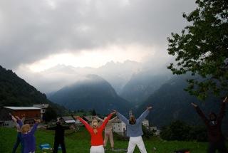 Yoga Retreat Europe August 2013 Yoga Meditation Hiking Food Friendship Fun